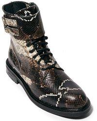 AllSaints Allsaints Brigade Leather Boot - Black