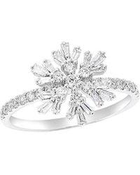 Diana M. Jewels . Fine Jewellery 14k 0.62 Ct. Tw. Diamond Ring - Metallic