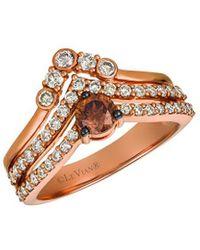 Le Vian ? 14k Strawberry Gold? 0.97 Ct. Tw. Diamond Ring - Metallic