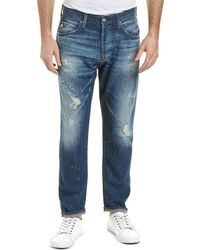 AG Jeans The Apex 12 Years Cannes Relaxed Tapered Leg - Blue
