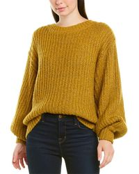 MILLY - Sparkle Wool-blend Sweater - Lyst