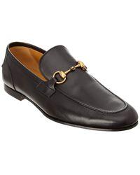 Gucci Jordaan Leather Loafer - Black