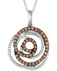 Le Vian ? Grand Sample Sale 14k Vanilla Gold? 0.73 Ct. Tw. Diamond Pendant - Metallic