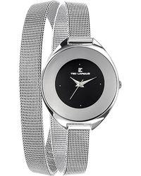 Ted Lapidus Women's Classic Watch - Metallic