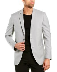 Theory Wool Sportcoat - Grey