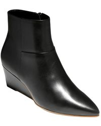 Cole Haan Eneida Wedge Bootie - Black