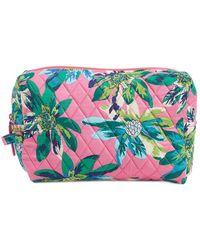 Vera Bradley Large Cosmetic Case - Multicolour