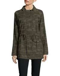 Sanctuary - Camouflage Field Jacket - Lyst
