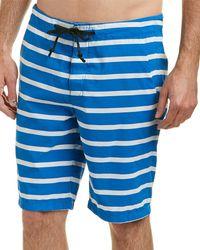 Life After Denim - Life/after/denim Hookline Striped Boardshort - Lyst