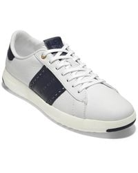 Cole Haan Gap Tennis Classic Edition Leather Trainer - White