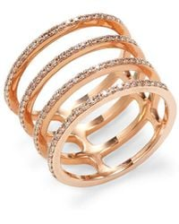 EF Collection - Multi Spiral Diamond Ring - Lyst