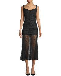 Camilla & Marc Sinclair Midi Dress - Black