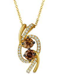 Le Vian ? 14k 0.72 Ct. Tw. Diamond Pendant - Metallic
