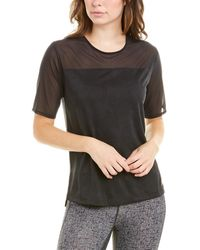 New Balance Short Sleeve Top - Black