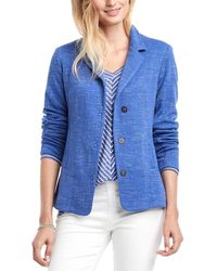 NIC+ZOE Milly Jacket - Blue