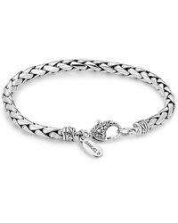 Samuel B. Jewellery Interlocking Chain Bracelet - Metallic
