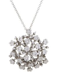 Pasquale Bruni - 18k Diamond & Sapphire Necklace - Lyst