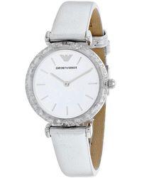 Armani Classic Watch - Metallic