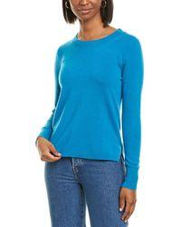 J.Crew Everyday Cashmere Sweater - Blue