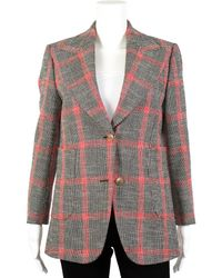Gucci Hollywood Forever Wool-blend Blazer, Size It 42, Nwt - Multicolour