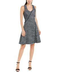 10 Crosby Derek Lam Tweed A-line Dress - Multicolour