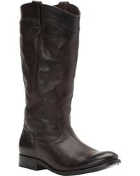 Frye - Melissa Pull On Tall Leather Boot - Lyst