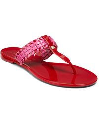 Jack Rogers Tinsley Jelly Thong Sandal - Red