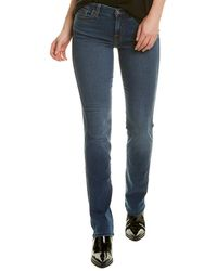 7 For All Mankind 7 For All Mankind Kimmie Lndk Straight Leg Jean - Blue