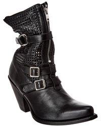Céline Berlin Leather Boot - Black