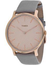 Timex Metropolitan Watch - Metallic