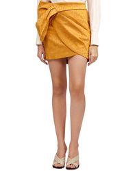 Acler Tomsey Skirt - Metallic