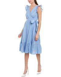 J.Crew Wrap Dress - Blue