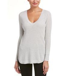 Joan Vass Sweater - Metallic