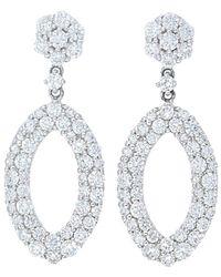 Nephora 14k 2.50 Ct. Tw. Diamond Marquise Shape Dangle Earrings - Metallic