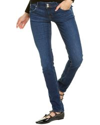 Hudson Jeans Collin Abby Skinny Leg Jean - Blue