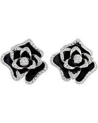 Roberto Coin 18k 0.60 Ct. Tw. Diamond Earrings - Black
