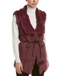 Love Token Nia Vest - Purple