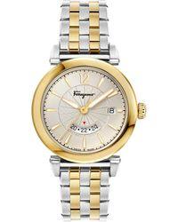 Ferragamo - Feroni Two - Tone Watch - Lyst