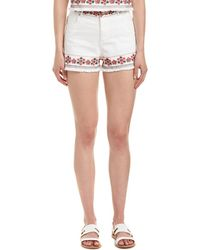 4si3nna - Embroidered Short - Lyst
