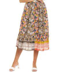 Velvet By Graham & Spencer Rosaleen Skirt - Multicolour