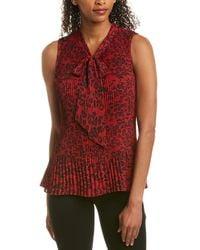 Donna Karan New York Blouse - Red
