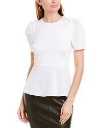 Elie Tahari Cressida Shirt - White