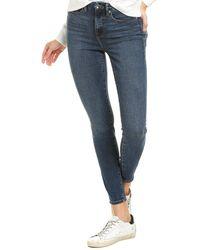GOOD AMERICAN Good Legs Crop Jeans - Blue