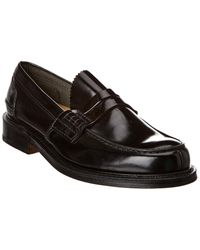 Church's Leather Loafer - Black