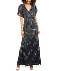 Adrianna Papell Gown - Blue