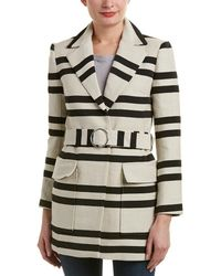 French Connection - Escher Belted Coat - Lyst