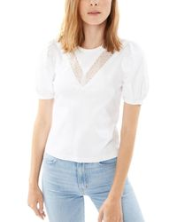 Generation Love Lyric Lace Top - White