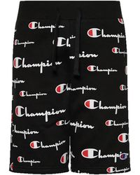 Champion Revw Cut Off Shrt - Black