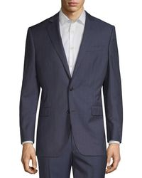 Brooks Brothers - Striped Wool Suit Jacket - Lyst