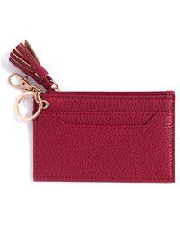 Shiraleah Gigi Card Case - Red